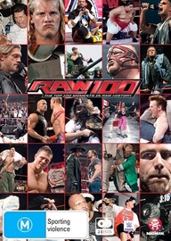 WWE: Raw 100: The Top 100 Moments In Raw History on DVD
