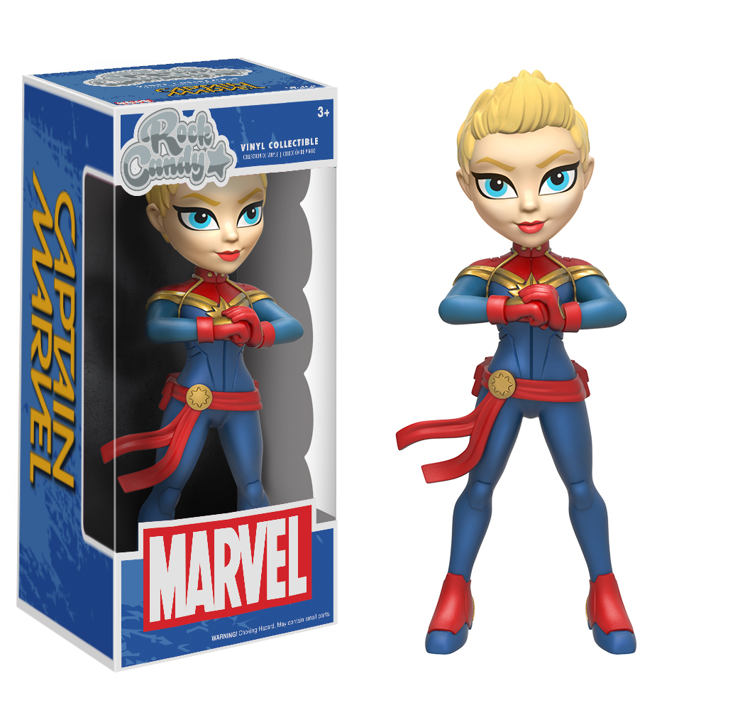 Marvel – Captain Marvel Rock Candy Vinyl Figure image