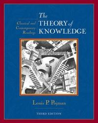 The Theory of Knowledge by Louis Pojman image