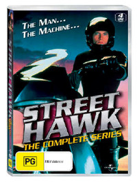 Street Hawk - The Complete Series (4 Disc Set) on DVD image