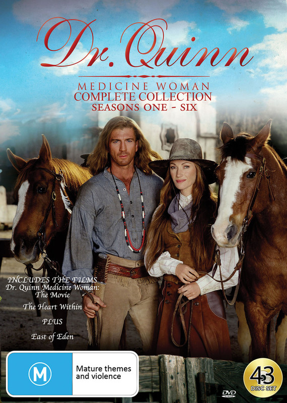 Dr Quinn Medicine Woman - Complete Collection (Includes East Of Eden) on DVD