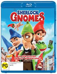 Sherlock Gnomes on Blu-ray image