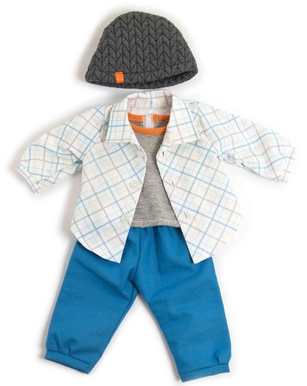 Miniland: Doll Outfit - Blue Spring Set