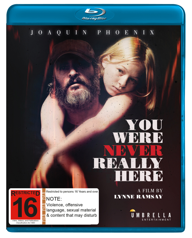 You Were Never Really Here on Blu-ray