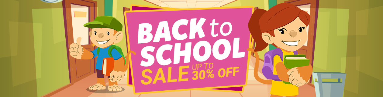 Back to School Sale on Now!