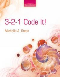 3,2,1 Code It! by Michelle A Green image