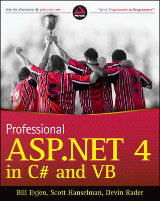 Professional ASP.NET 4 in C# and VB by Bill Evjen image