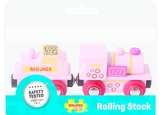 Bigjigs Pink Engine Train