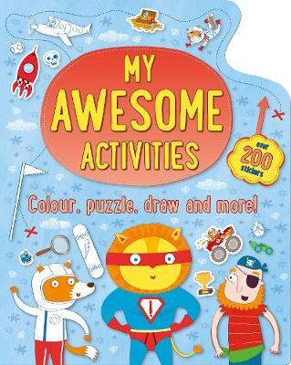 My Awesome Activities by Parragon Books Ltd image