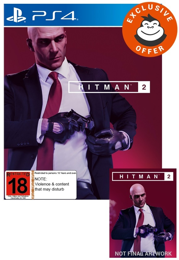 Hitman 2 Steelbook Edition for PS4 image