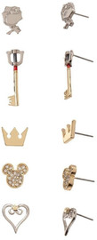 Kingdom Hearts Earrings Set (5 Pack)