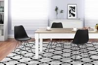 Shangri-La: Set of 2 DSR Dining Chairs - Eames Replica (Black/Black)