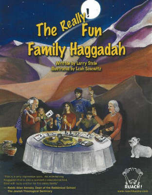 The Really! Fun Family Haggadah by Larry A. Stein image