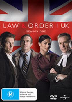 Law & Order UK - Season 1 (2 Disc Set) on DVD image