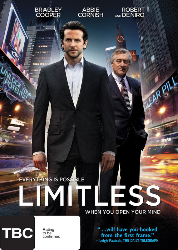 Limitless on DVD