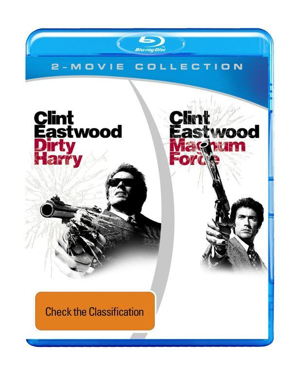 Dirty Harry/Magnum Force on Blu-ray