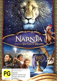 The Chronicles of Narnia: Voyage of the Dawn Treader on DVD