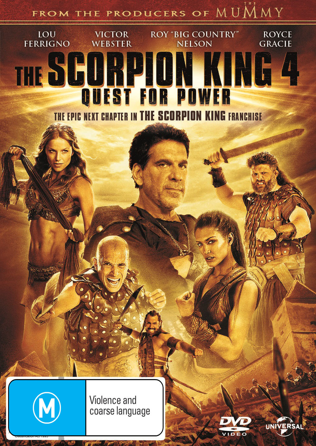 The Scorpion King 4: Quest for Power on DVD image