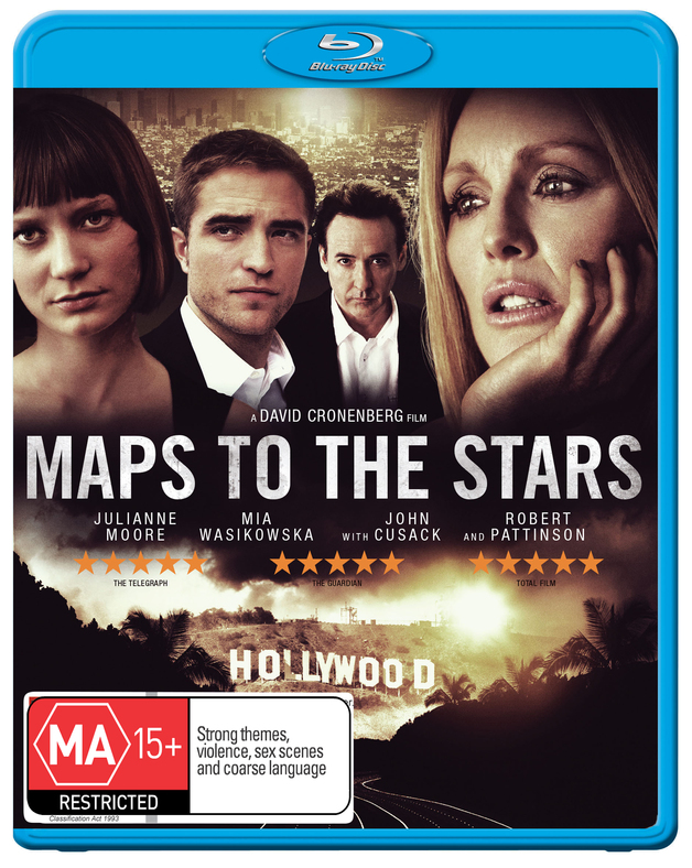 Maps to the Stars on Blu-ray