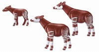 Playmobil: Zoo Theme - Okapi Family (6643)