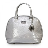 Loungefly Disney Frozen Silver Glitter Embossed Bag