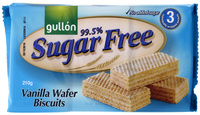 Gullon Sugar-Free Vanilla Wafers (210g)