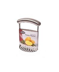 Stainless Steel Potato Masher with Horizontal Grip