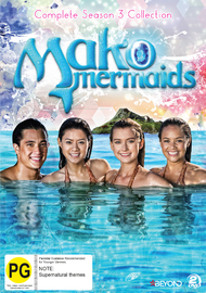 Mako Mermaid - Season 3 Complete Collection (2 Disc Set) on DVD