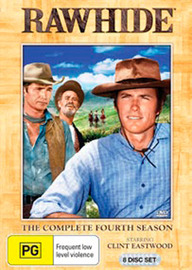 Rawhide - The Complete 4th Season (8 Disc Set) on DVD