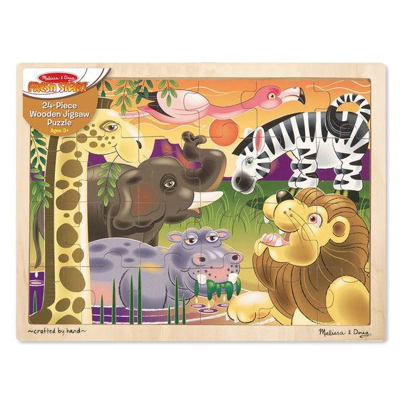 Melissa & Doug: African Plains Wooden Jigsaw Puzzle