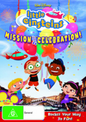 Little Einsteins - Mission Celebration! on DVD