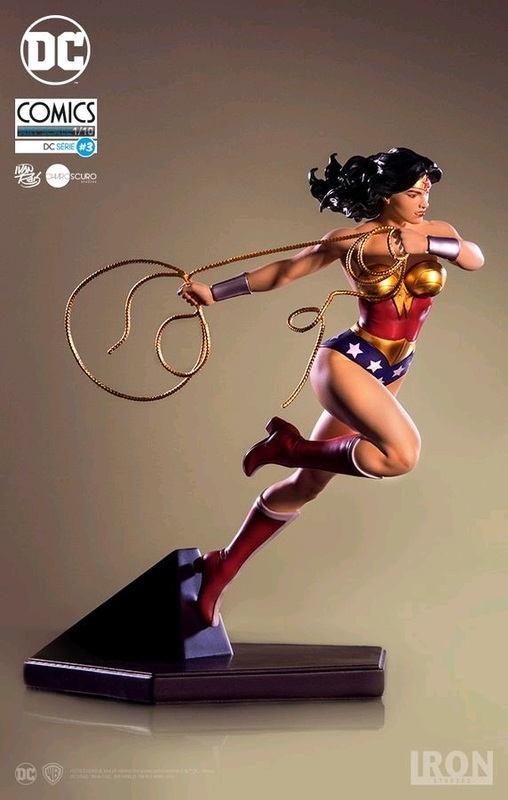 DC Comics: Wonder Woman - 1:10 Deluxe Art Statue