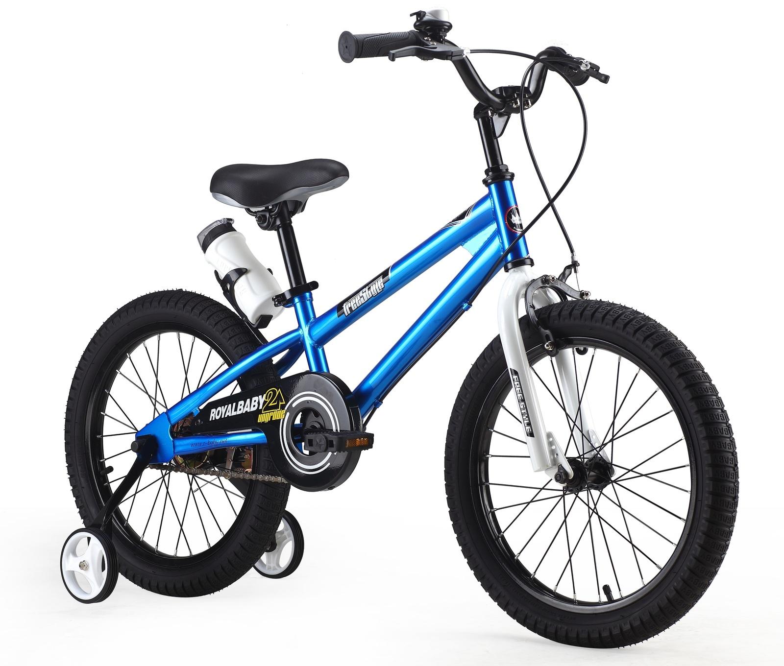 """RoyalBaby: BMX Freestyle - 18"""" Bike (Blue) image"""
