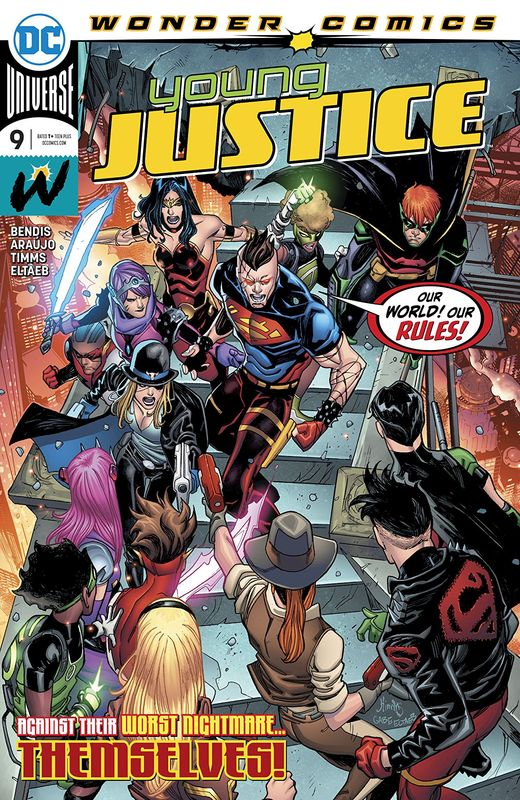 Young Justice #9 - (Cover A) by Brian Michael Bendis