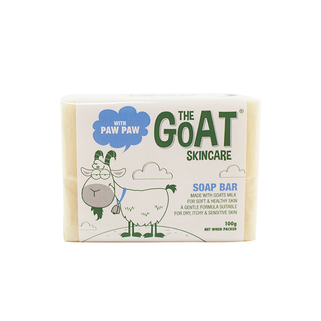 The Goat Skincare: Soap Bar with Paw Paw