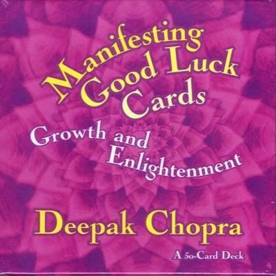 Manifesting Good Luck Cards by Deepak Chopra image