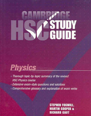 Cambridge HSC Physics Study Guide by Stephen Fogwill image