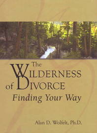 The Wilderness of Divorce by Alan D Wolfelt image