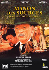 Manon Des Sources on DVD