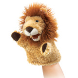 Folkmanis Hand Puppet - Little Lion