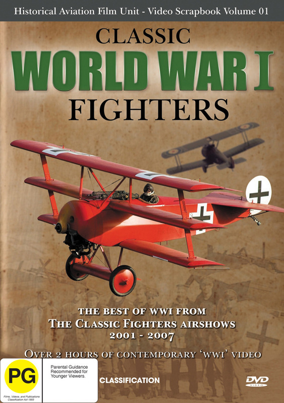 Classic World War One Fighters on DVD
