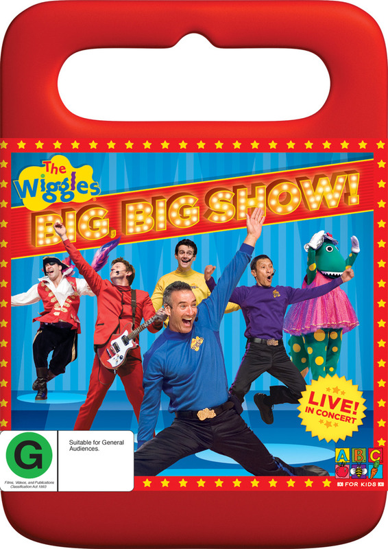 The Wiggles - Big, Big Show!: Live! in Concert on DVD