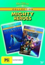 Walt Disney Collection - Mighty Heroes (Atlantis - The Lost Empire / Treasure Planet) (2 Disc Set) on DVD