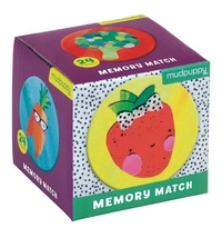 Mudpuppy: Mini Memory Game - Fruits & Veggies