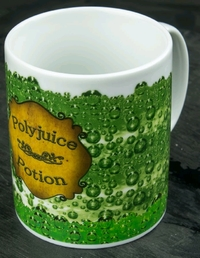 Harry Potter - PolyJuice Potion Heat Changing Coffee Mug