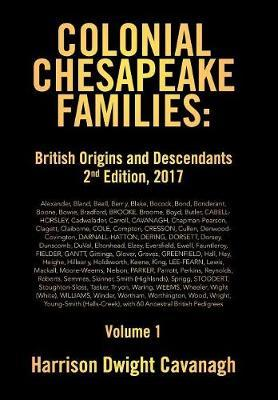 Colonial Chesapeake Families by Harrison Dwight Cavanagh image