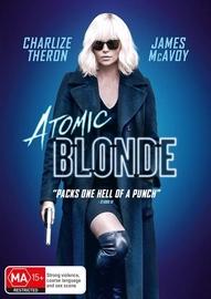 Atomic Blonde on DVD image
