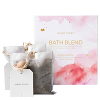 Short Story Bath Blend and Card (Rose)