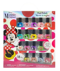 Disney's Minnie Mouse: Nail Polish Set - 18-Pack (Assorted Designs)