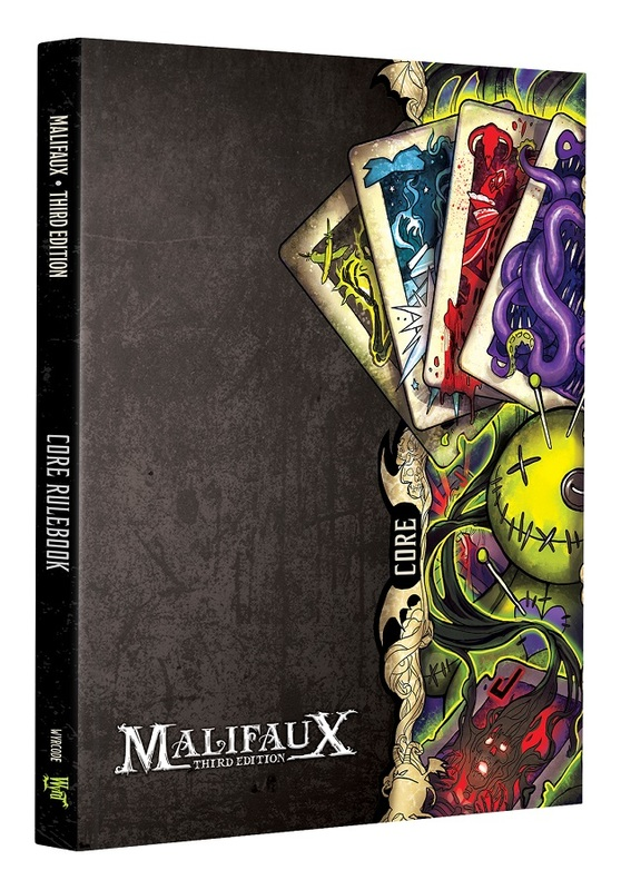 Malifaux 3rd Edition Core Rulebook